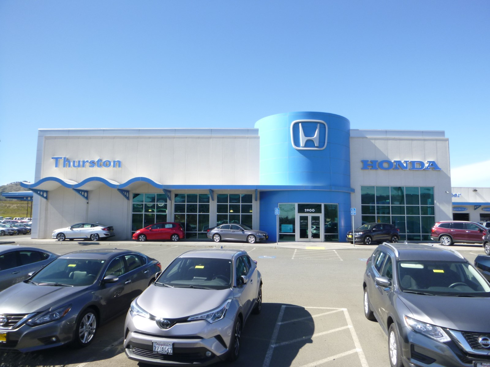 Thurston Honda in Ukiah CA